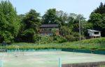 テニスコートより望む(周辺)