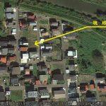 宅地の分譲地航空写真(周辺)