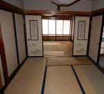 裏木戸キッチン脇の和室6畳(内装)