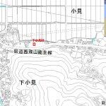 県道に隣接2軒目(地図)