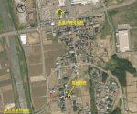 広域の地図で糸魚川総合病院近く(地図)