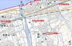 糸魚川市の東側市街地