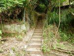 展望東屋へ登る石段01(周辺)