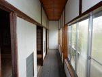 2階南側縁廊下、鉾が岳見晴らし