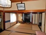 1階の広々空間8畳和室が二間(居間)