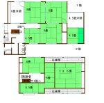 9LDKの部屋は用途豊富(間取)